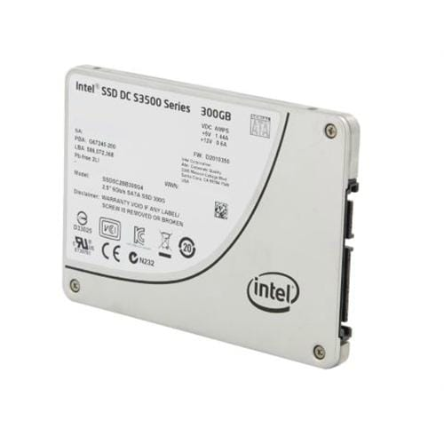 "SSD Intel S3500 Series 300GB 2.5"", 6Gb/s ,MLC,20nm, OEM"