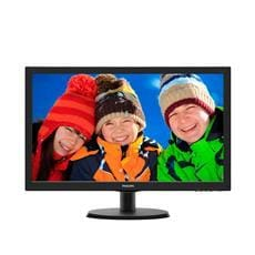 "Monitor Philips 223V5LSB/00, 21,5"", LED, 1920x1080, 10 000 000:1, 5ms, 250cd, D-SUB, DVI, čierny"