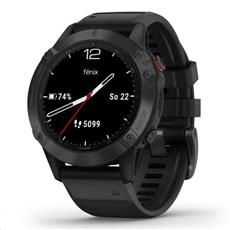 Garmin fénix 6 Pro Black, Black Band (MAP/Music) 47mm
