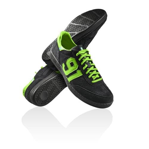 SALMING NinetyOne Black/Green 7 UK, 41 1/3 EUR