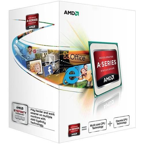 CPU AMD Richland A4 Series X2 4000 Processor BOX, soc. FM2, 65W, Radeon TM HD 7480D