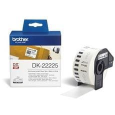 Rolka BROTHER DK22225 Continuous Paper Tape (Biela 38mm)