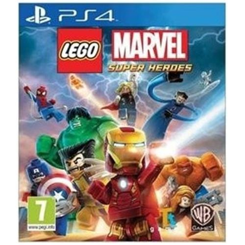 PS4 hra - LEGO MARVEL SUPER HEROES