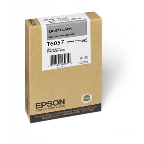 Kazeta EPSON T605 Singlepack Light Black 110ml