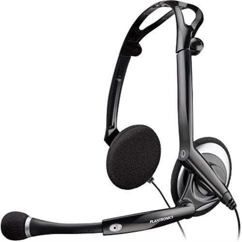 Headset Plantronics Audio 400 DSP, čierny