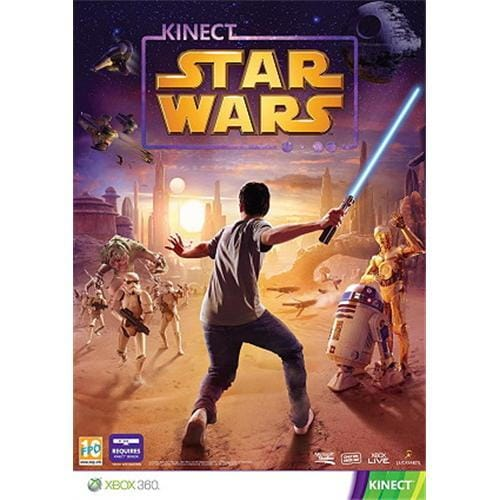 XBOX 360 hra - Kinect Star Wars CS/EL/HU/KS DVD