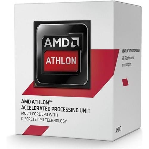 CPU AMD, Athlon X4 5350 Processor BOX, soc. FS1b/AM1, 25W, Radeon HD 8400 (bez chladenia)