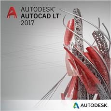 AutoCAD LT 2017 Commercial New Single-user ELD 2-Year Subscription with Advanc. Support