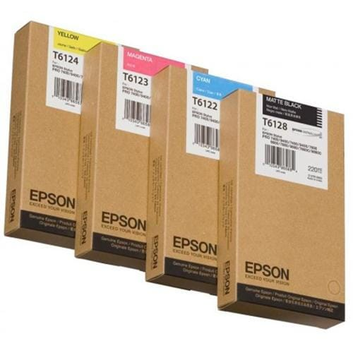 Kazeta EPSON SPro 7450/9450/7400/9400 yellow 220ml