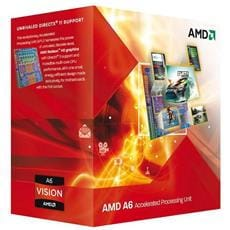 CPU AMD Richland A6 Series X2 6420K Processor BOX, soc. FM2, 65W, Radeon TM HD 8470D