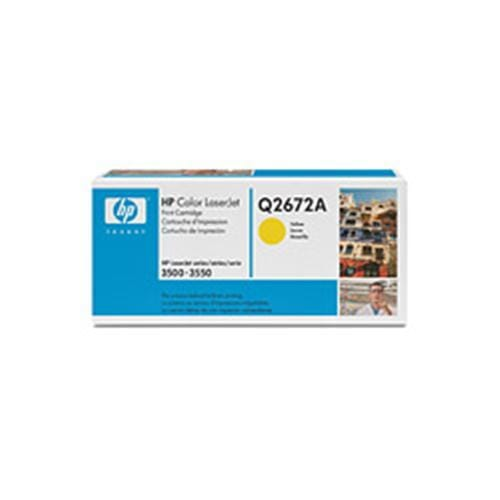 Toner HP Q2672A Smart 3500 Yellow 4,000strán