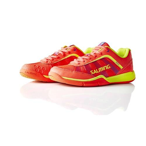 SALMING Adder Women DivaPink/SafetyYellow 6 UK, 39 1/3 EUR