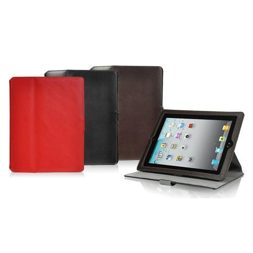 LUXA2 - Handy Accessories iPad 2 Metis Leather Stand Case (RED)