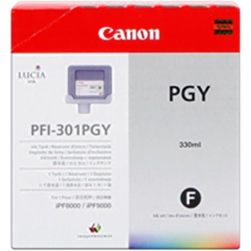 Kazeta CANON PFI-301PGY photo grey iPF 8000/9000 (330ml)