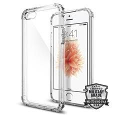 Spigen kryt Crystal Shell pre iPhone SE - Clear Crystal