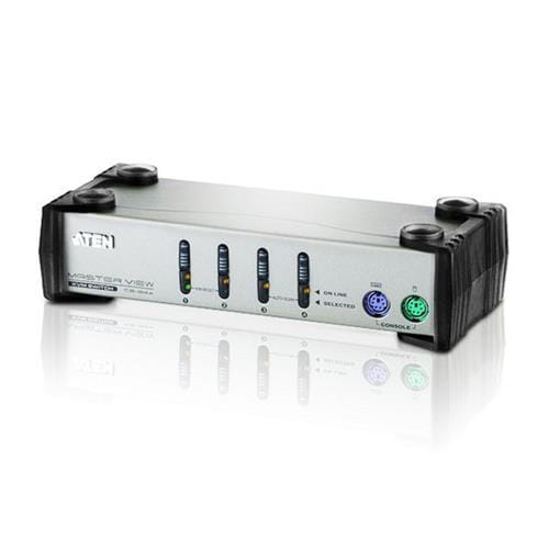 ATEN KVM switch CS-84AC PS/2 4PC vč. kabeláže 1,2 a 1,8m