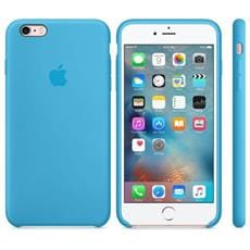 Apple iPhone 6S Plus Silicone Case Blue