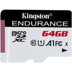 64GB microSDXC Kingston Endurance CL10 A1 95R/45W bez adaptéru