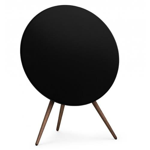 Reproduktor BeoPlay A9 - Black with walnut legs