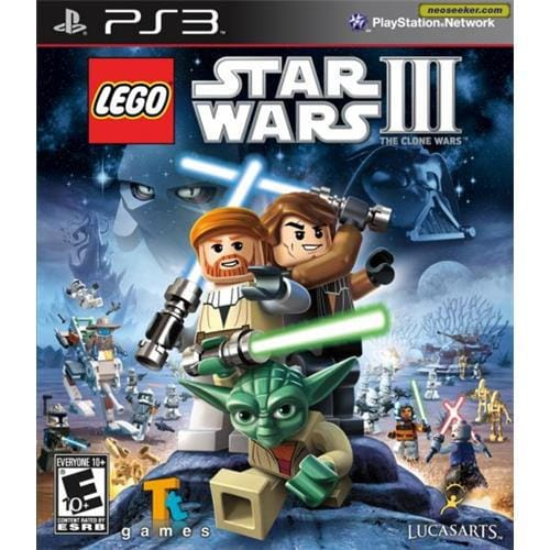 PS3 hra - LEGO Star Wars III: The Clone Wars