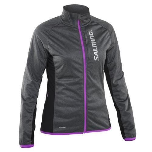 SALMING Running Jacket Women Grey L