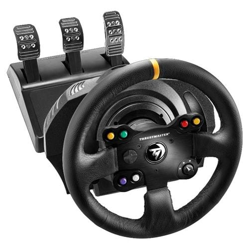 Sada volantu a pedálov Thrustmaster TX Leather Edition pre Xbox One a PC